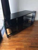 Black tv stand in Okinawa, Japan