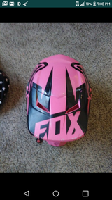 Special deal tonight only 20$$$ pink fox helmet in 29 Palms, California