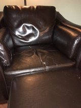 FREE Leather Chair & Ottoman in St. Charles, Illinois