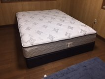 Queen Bed and Box in Okinawa, Japan