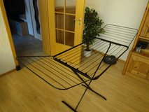Folding Laundry Clothes Drying Dryer Rack Metal in Ramstein, Germany