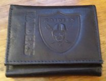 NEW Raider leather wallet in 29 Palms, California