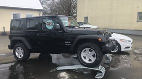 Get Ahead in The Snow with the Jeep Wrangler Unlimited 4WD in Grafenwoehr, GE