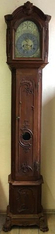 Antique Luxemburg grandfather clock - dated 1807 in Ramstein, Germany