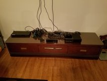 TV stand/entertainment center with top glass in Fort Leonard Wood, Missouri