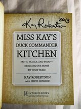Autographed cookbook in Chicago, Illinois