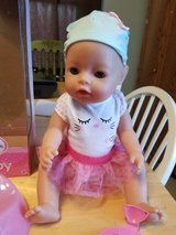 Baby born doll in St. Charles, Illinois
