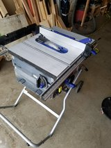 Kobalt 10 inch folding table saw in Travis AFB, California