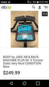 Body by Jake Ab & Back Exerciser in The Woodlands, Texas