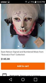 Ld. Edit. Dylan Nelson Ceramic Mask in The Woodlands, Texas