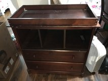 Cherry Wood Changing Table *Free in Travis AFB, California