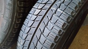 Michelin Snow Tires: set of 4, never used 205/65R15 Tires 15 inch in Oswego, Illinois