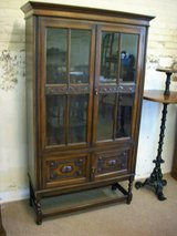 1920's oak bookcase in Lakenheath, UK