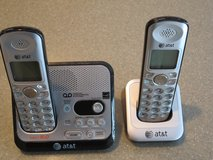 Two ATt&T Cordless Home Phones plus Answering Machine in St. Charles, Illinois