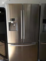 SAMSUNG FRENCH STYLE REFRIGERATOR in Lumberton, North Carolina