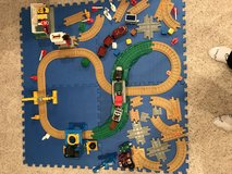Geo tracks train set with trains in Naperville, Illinois