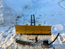 50 in moose plow for ATV with push bar, mounting bracket, and lift handle in Watertown, New York