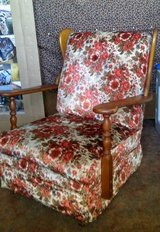 mid century 1975 mayple rocking chair in 29 Palms, California