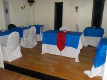 CHAIR & TABLE COVERS in Lumberton, North Carolina