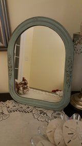 Vintage Mirror Now Shabby Chic in Camp Lejeune, North Carolina