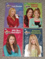 NEW Lot of 4 Disney Hannah Montana Miley Cyrus Hard Cover Books in Joliet, Illinois