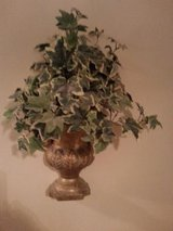 50% Off Price/Kirklands Large Wall Urn with Greenery/Perfect Condition! in Aurora, Illinois
