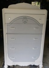 Vintage dresser in Fort Polk, Louisiana