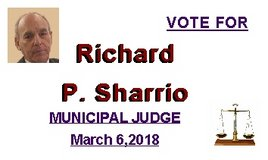 SHARRIO FOR MUNICIPAL JUDGE VOTE MARCH 6, 2018 in Alamogordo, New Mexico
