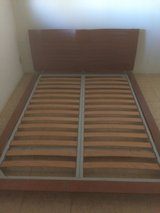 Japanese Style Floor Queen Bed Frame in 29 Palms, California