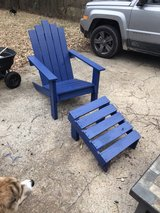 Adirondack chair in Fort Campbell, Kentucky