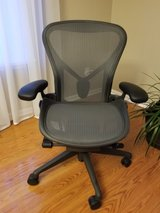 New Aeron Herman Ergonomic Office Chairs Size B in Joliet, Illinois