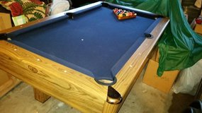 Slate Pool Table,  Stools & Rack in Camp Pendleton, California