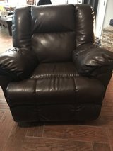 Leather recliner/ rocker in 29 Palms, California