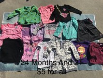 Girl clothes size 2T in Camp Pendleton, California