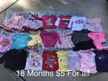 Girl clothes size 18 Months in Camp Pendleton, California