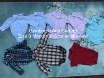 Baby boy clothes size 3 Months in Camp Pendleton, California