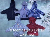 Baby boy sweaters in Camp Pendleton, California