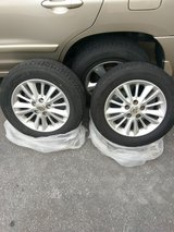 crown rims and tires full set in Okinawa, Japan