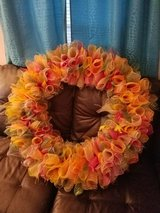 fall wreath in Fort Campbell, Kentucky
