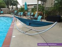 Hammock stand in Beaufort, South Carolina