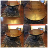 Antique dining room table in Warner Robins, Georgia