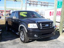 2008 FORD SUPERCREW F-150 4X4  FX4 LOADED LEATHER ROOF LOW MILES~REDUCED in Camp Lejeune, North Carolina