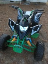 200cc racing quad 2014 runs excellent trading for car or truck or $1600 in Byron, Georgia