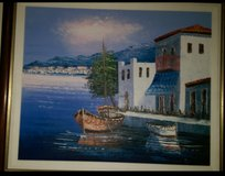 Painting of Mediterranean.by Local Painter in Kingwood, Texas