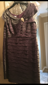 Purple dress in Fort Campbell, Kentucky