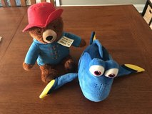 Paddington stuffed bear & Dory stuffed toy in Warner Robins, Georgia