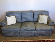 Couch with 4 throw pillows in Alamogordo, New Mexico