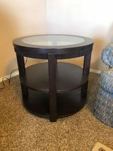 Side table with glass top in Alamogordo, New Mexico