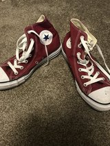 CONVERSE (Maroon, Size 8 Women's/6 Men's) in Camp Pendleton, California