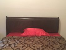 Cherry Wood Queen Size Head & Foot Board and Rails in Columbia, South Carolina